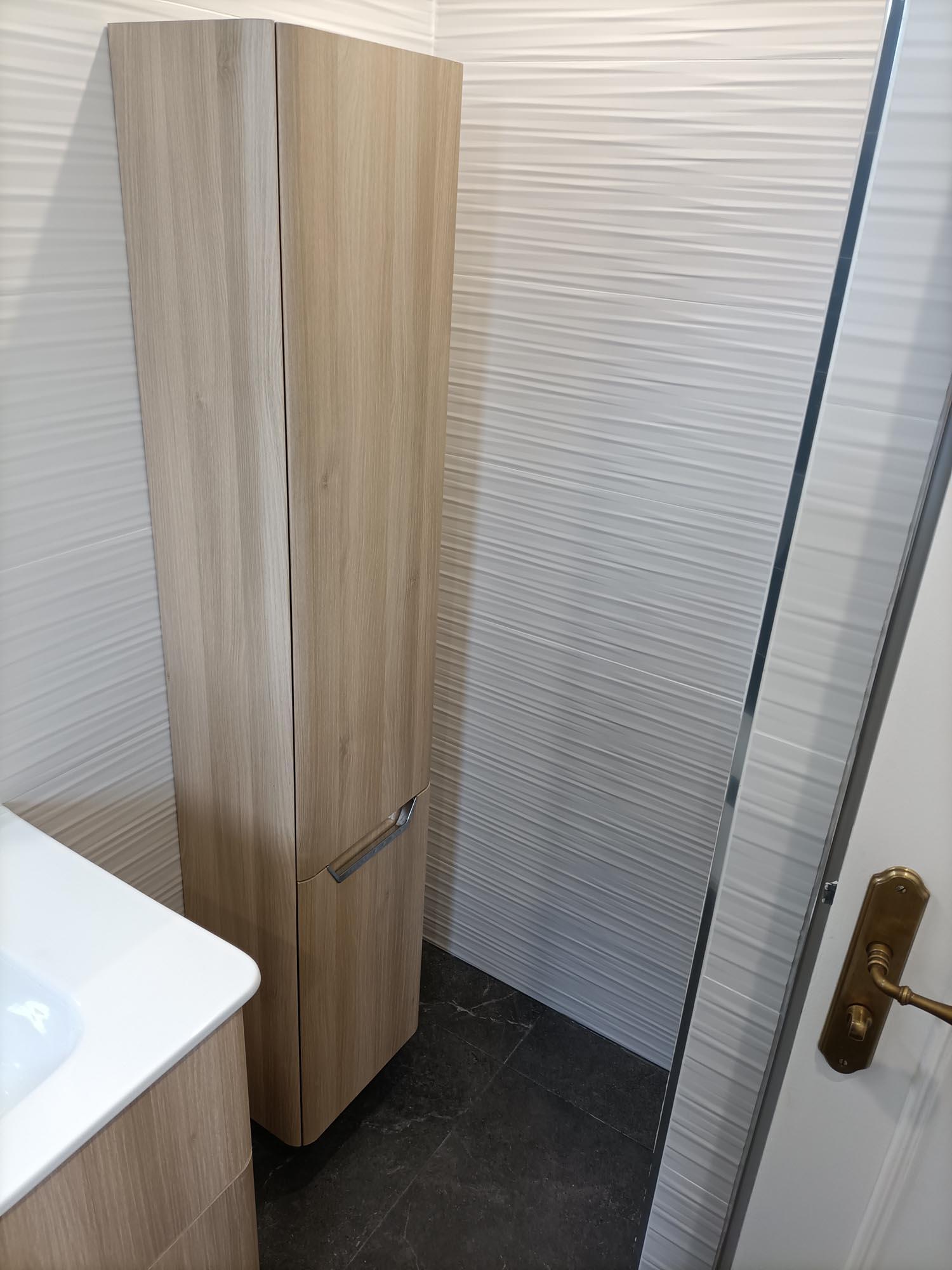 création salle de bain sur mesure