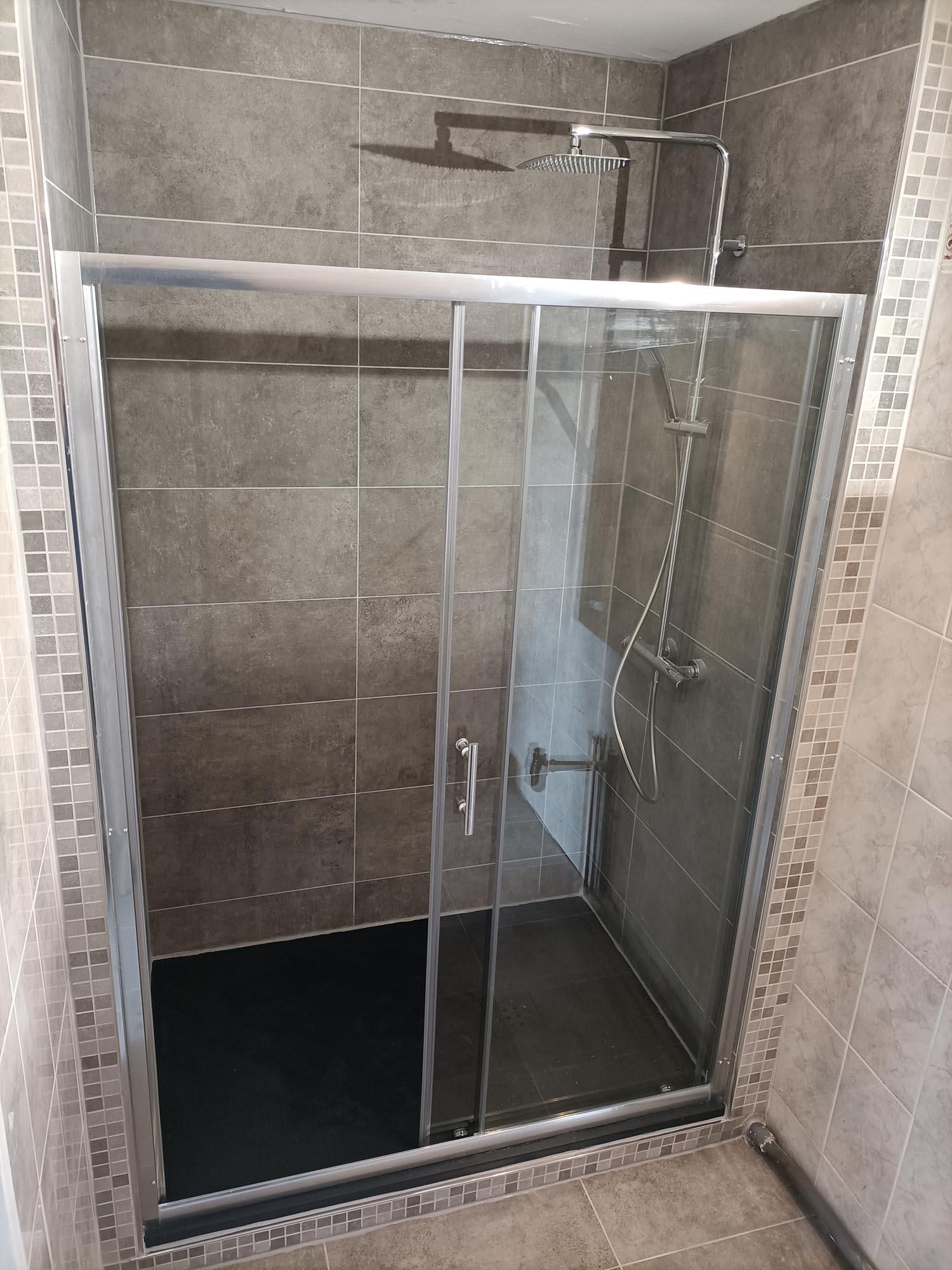 douche à l'italienne amx plomberie