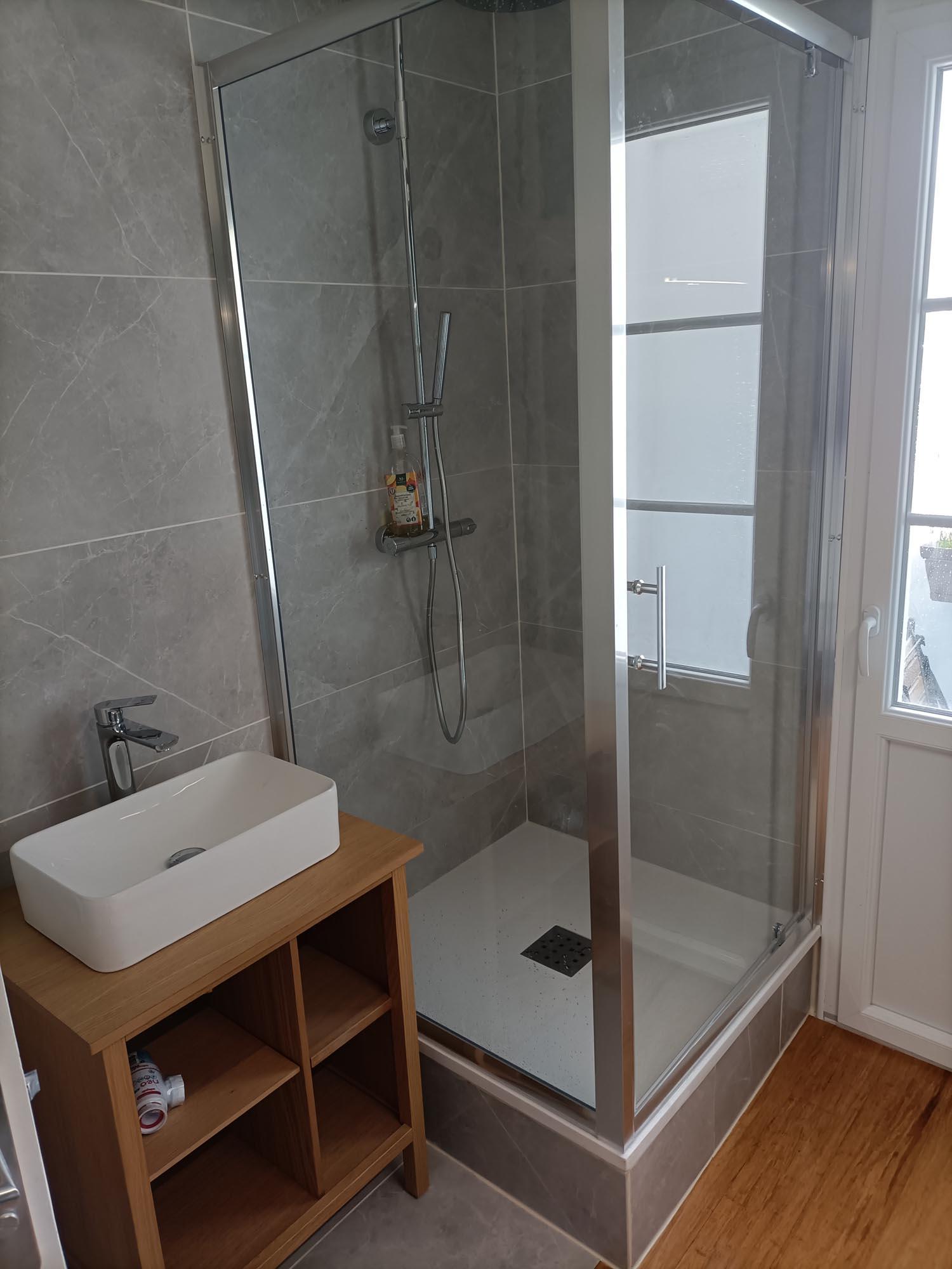 renovation douche et salle de bain à rennes